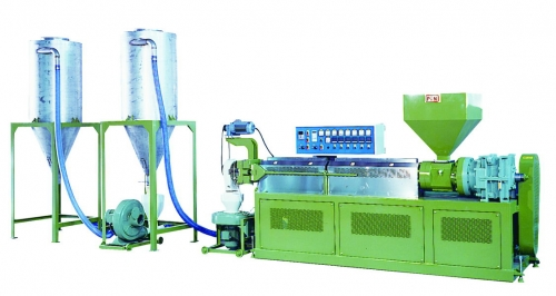 SINGLE SCREW PELLETIZER EXTRUDER