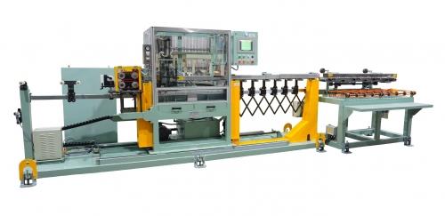 油压式切断机+排料装置